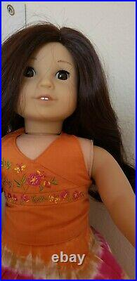 American Girl Jess Doll, with Bag And Book