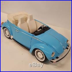 American Girl Julie's Car Volkswagen VW Bug Retired