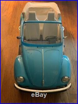 American Girl Julie's Car Volkswagen Vw Bug - Excellent
