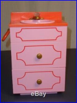 American Girl Julie's Groovy Bathroom Set Complete