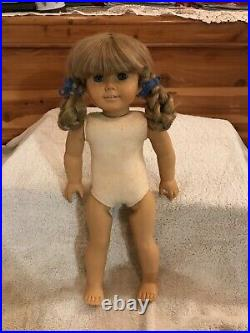 American Girl KIRSTEN DOLL White Body (Pleasant Co) Doll + 6 Outfits/Accessories