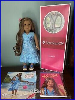 American Girl Kanani Akina With Box And Book Display Doll