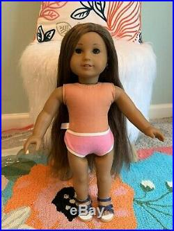 American Girl Kanani Doll of the Yr, Pierced Ears, Excellent Condition, Retired