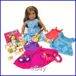 American Girl Kanani GOTY with 3 outfits, 1 Book, Ukelele, and Snack Package