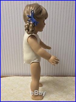 American Girl Kirsten Larson Doll White Body Pleasant Company with School Dress