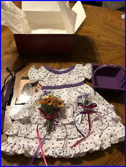 American Girl Kirsten Larson's Midsummer Outfit Complete EUC In Box RETIRED