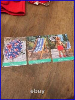 American Girl Kit RETIRED Kits 1934 Swimsuit And Beach Chair
