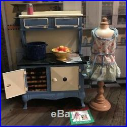 American Girl Kit's COOKSTOVE 18 Doll Kitchen Stove with accessories