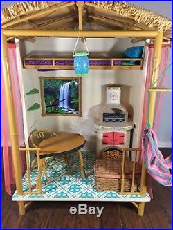 American Girl LEA RAINFOREST HOUSE Lea's Hut Hammock GUC