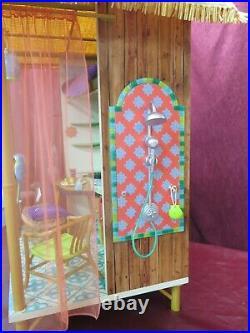 American Girl Lea Clark's Rainforest Hut Bamboo House Furniture Accessories