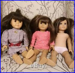 American Girl Lot Of Four Dolls 18