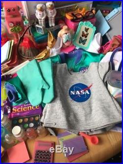 American Girl Luciana Mars Space Habitat Plus Extras