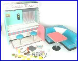 American Girl Maryellen's Seaside Diner Play-set Furniture With Accessories