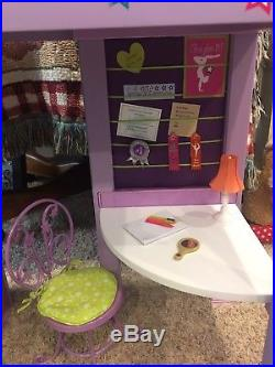 American Girl McKenna's Loft bed RETIRED Gymnastic Accessories GOTY 2012 AG Doll
