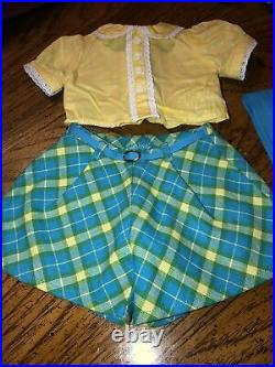 American Girl Molly Roller Skating Outfit Complete EUC RETIRED