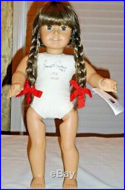 American Girl Molly Signed White Body Doll Pleasant Roland 1987
