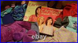 American Girl Of The Year Chrissa And Gwen With Clothing And Accessories