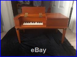 American Girl Pleasant Co. JOSEFINA English Square Piano Retired