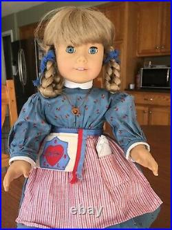 American Girl/Pleasant Company 1987 KIRSTEN doll signed/numbered-original braids