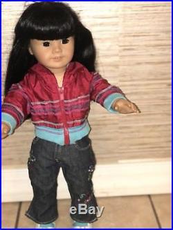 American Girl Pleasant Company Asian Doll Jly #4 Black Hair Retired