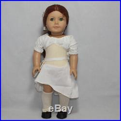 American Girl Pleasant Company Brown Body Felicity Doll, Needs TLC