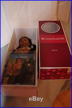 American Girl Pleasant Company Doll Kaya In Meet Clothes And Accessories Lot