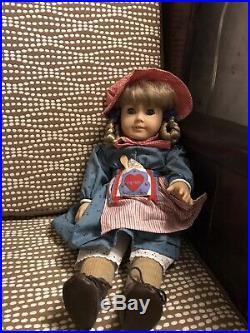 American Girl Pleasant Company Doll Kristen Larson in Meet Outfit 11419e