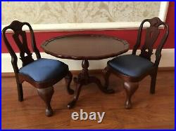 American Girl Pleasant Company Felicity TLC Tilt-Top Table and Chairs (retired)