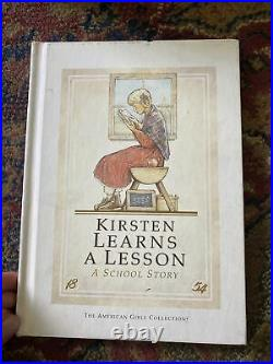 American Girl Pleasant Company Kirsten Larson School Set EUC RETIRED