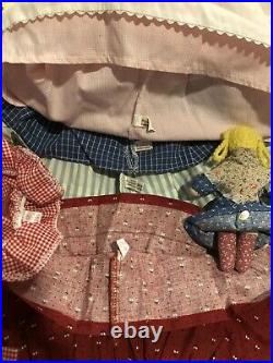 American Girl Pleasant Company Kirsten Lot Doll Clothes Accessories Great Cond