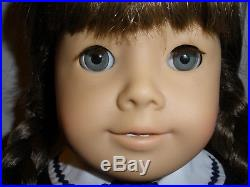 American Girl Pleasant Company, Rare White Body Molly in Meet Outfit, 1986 EUC