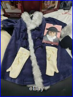 American Girl Pleasant Company Samantha 18 Historical Doll with accessories