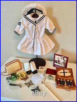 American Girl Pleasant Company Samantha Doll, Trunk, Clothes, Huge Collection 1997