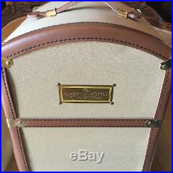 American Girl Pleasant Company Samantha Steamer Trunk With Hangers and Mirror