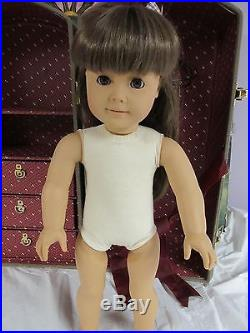 American Girl Pleasant Company Samantha White Body Whole World Collection