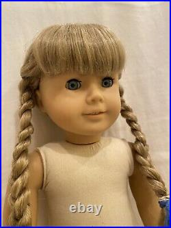 American Girl Pleasant Company White Body Kirsten Doll with Tinsel Hair