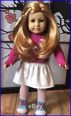 American Girl Retired MIA Doll 2008 Girl of the Year Artist Mark Adult Owned