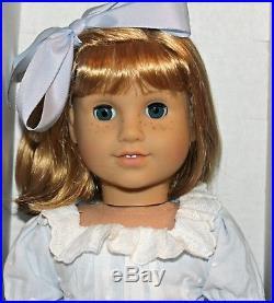 American Girl Retired Nellie 18 Doll & Book New In Box Rare