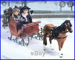 American Girl Samantha Central Park Horse And Sleigh