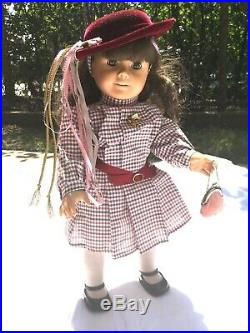 American Girl Samantha Doll, with original box, accessories, clothes, books, etc