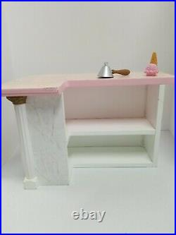 American Girl Samantha Ice Cream Parlor Set. Retired/Rare Please Read desc