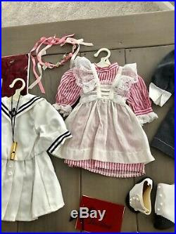 American Girl Samantha Original (1980's) Lot Of 5 Outfits & Accessories Rare