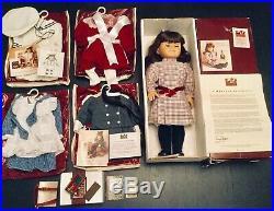 American Girl Samantha Parkington Doll Pleasant Company Clothes, Books