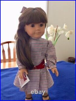 American Girl Samantha's Doll White Body And Accessories 1986 Pleasant Co Pre Ma