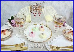 American Girl Samantha's Party Treats & Table Chairs & Victorian Lemonade 3 Sets