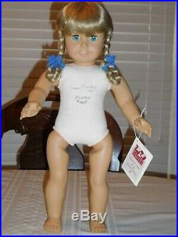 American Girl Signed White Body Kirsten Doll Pleasant Roland 1987 Pleasant Co