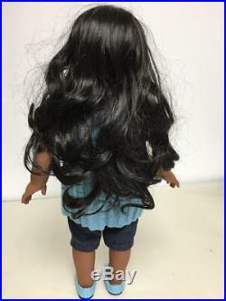 American Girl Sonali Doll In Meet Outfit Nice & Clean