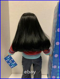 American Girl Today Doll Black Hair Just Like You (JLY) #4 Asian Rare Excellent