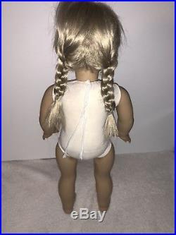 American Girl White Body Kirsten Larsen Pleasant Company