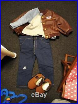 American Girl doll HUGE LOT boy Truly Me #76 very gently used
